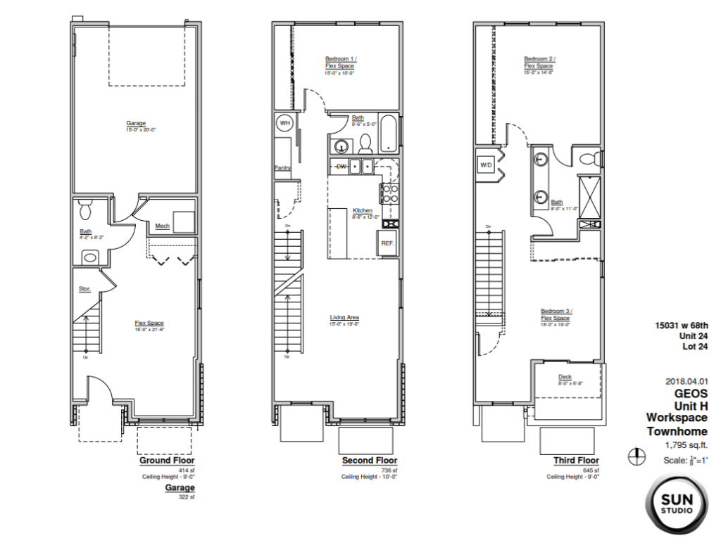 Geos Homes — Townhomes